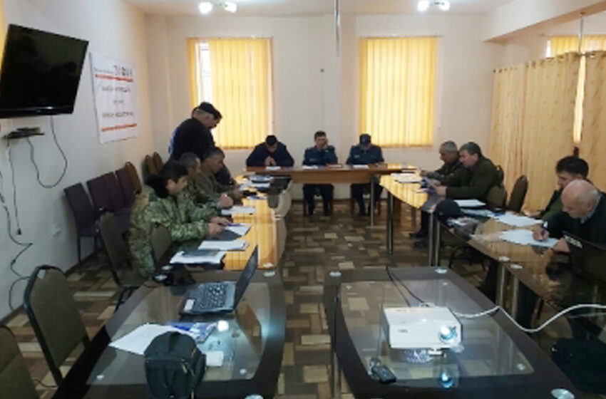 "Workshop in the framework of the project ""Action on the basis of forecasting"" in Kulob"