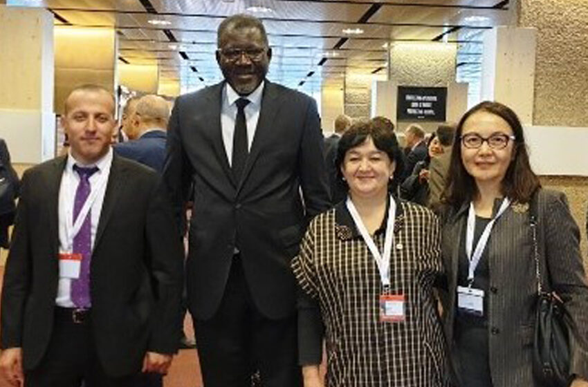 Meeting of the Secretary General of the RCST with the Secretary General of the International Federation of SS and YA